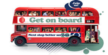 Get on Board bus